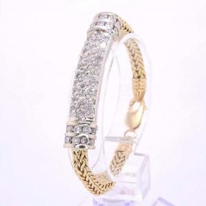 18 karat Gold and Diamond Bracelet