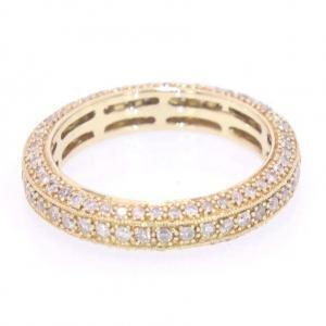 14 karat Gold and Pave Diamond Ring