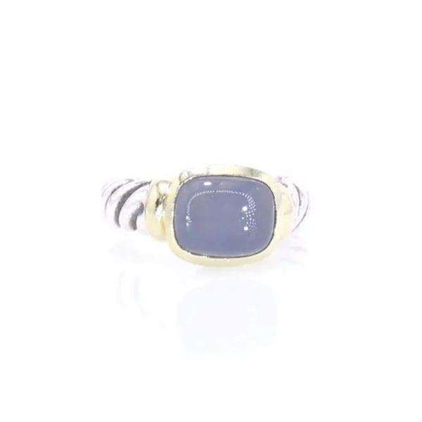 David Yurman Chalcedony Ring
