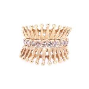 Diamond Ring and Ring Guard